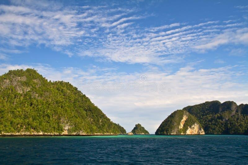 Wayag Raja Ampat Papua royalty free stock images