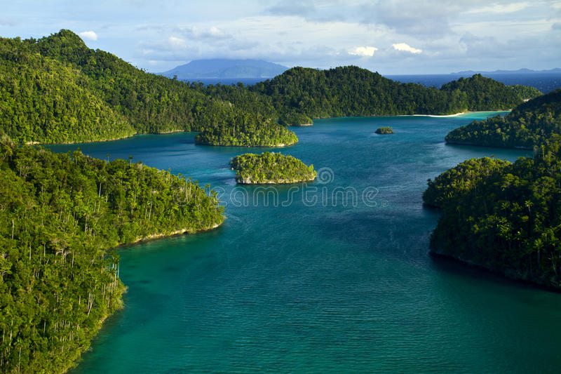 Wayag Raja Ampat Papua royalty free stock photography