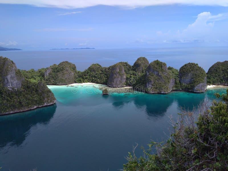 Wayag wyspa zdjęcie royalty free
