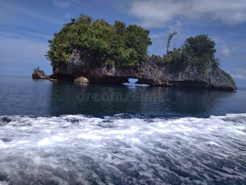 Wayag wyspa zdjęcia royalty free