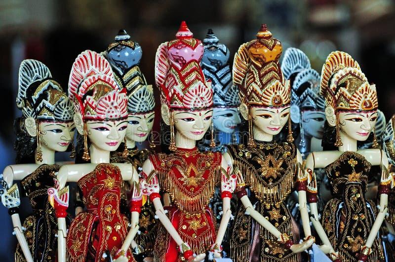 Wayang Golek royaltyfria bilder