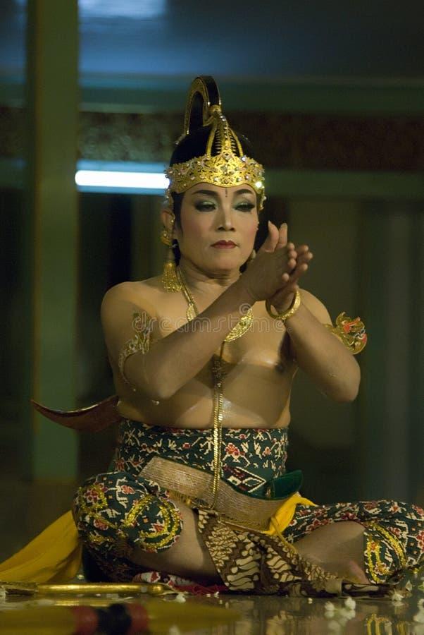 Wayang Orang imágenes de archivo libres de regalías