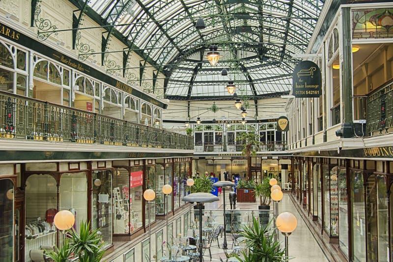 Wayfarers Arcade royalty free stock photos
