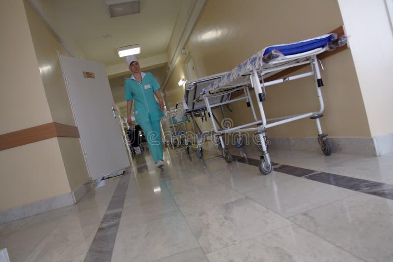 wayhospital 免版税图库摄影