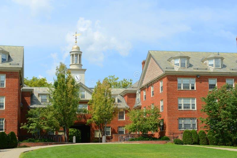 Wayland Hall Brown University, försyn, USA arkivfoton