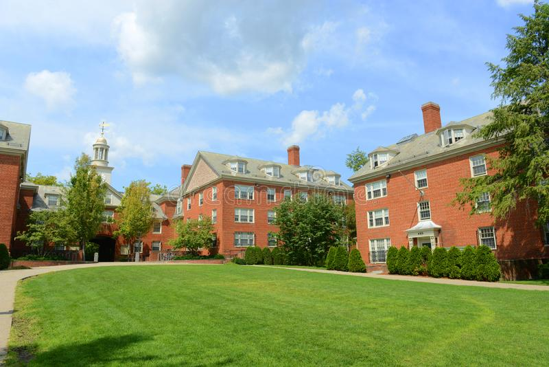Wayland Hall, Brown University, Providence, USA. Wayland Hall in Brown University, Providence, Rhode Island, USA royalty free stock photo
