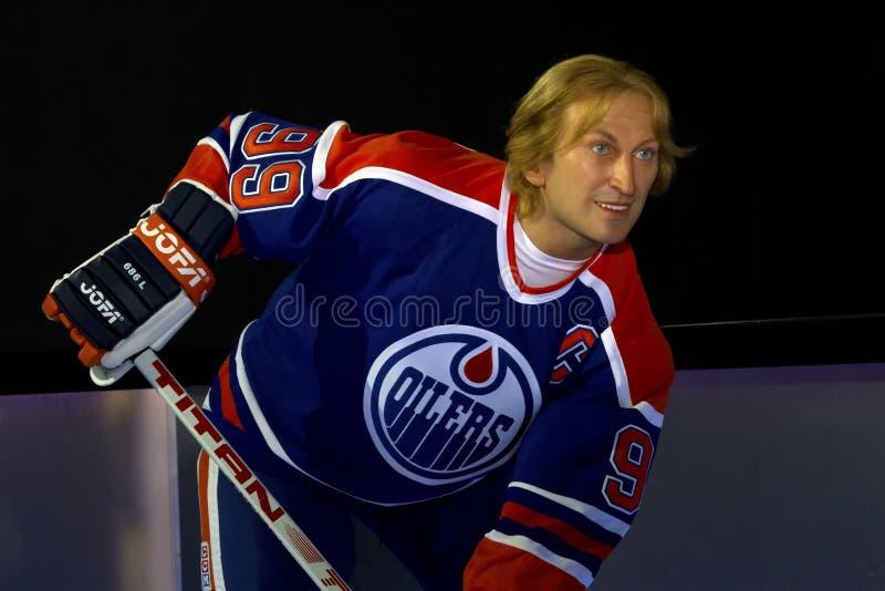 Wayne Gretzky royaltyfri bild