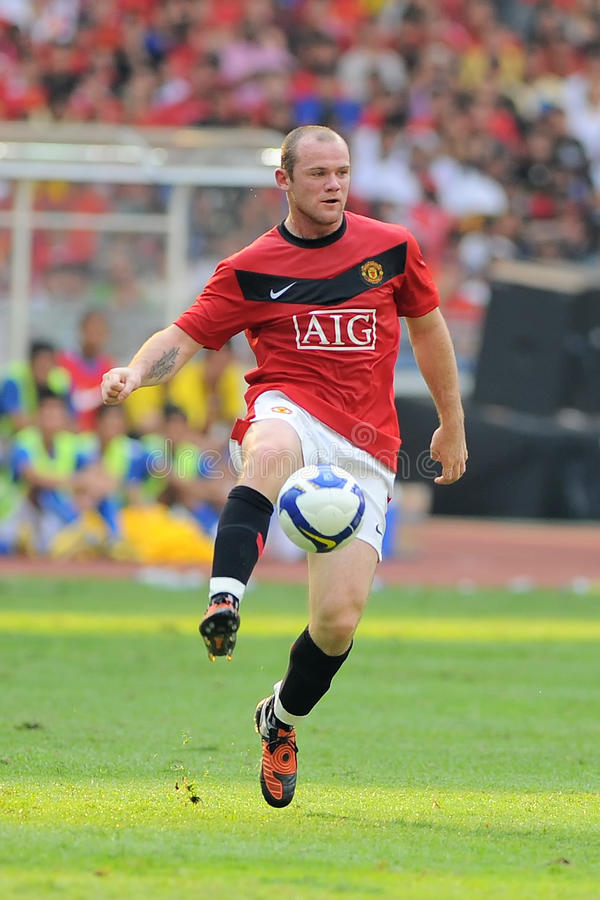 Wayne Rooney royalty free stock photography