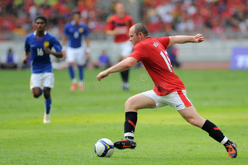 Wayne Rooney lizenzfreies stockbild