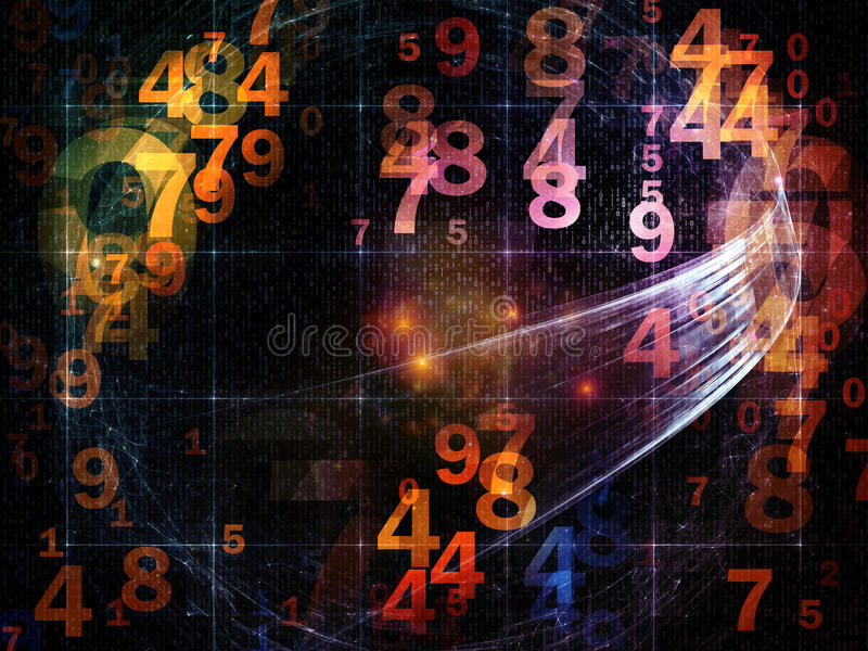 Download Ways of Numbers stock photo. Image of laboratory, collage - 25838488