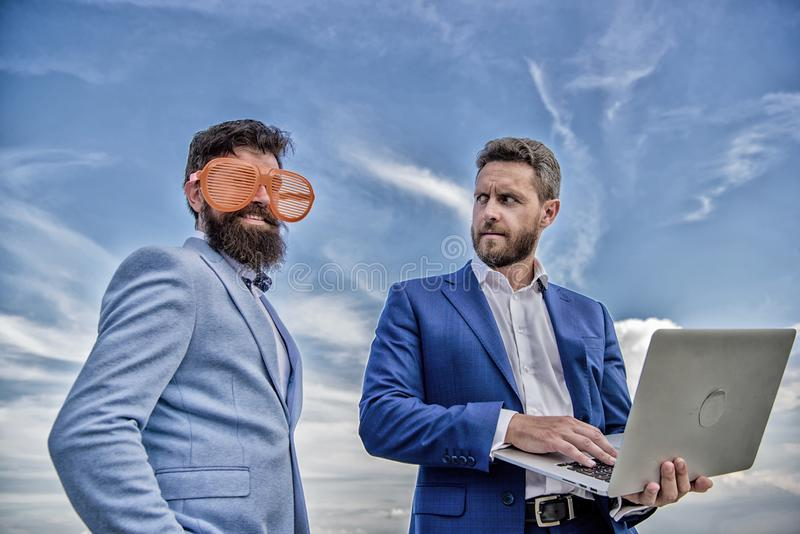 Ways to get people to take you seriously. How to stop playing at entrepreneurship and get serious about business stock image