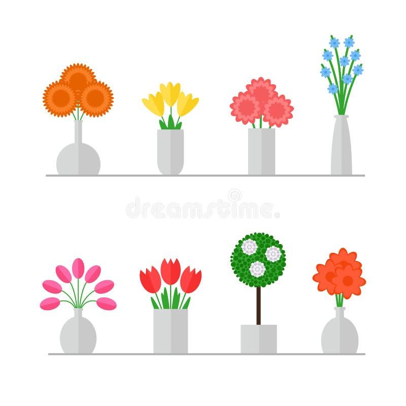 waza kwiat ilustracja wektor