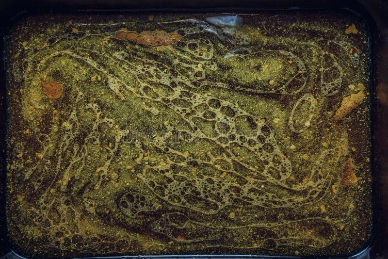 Wazeliniarskiej wodnej tekstury odgórny widok obraz stock