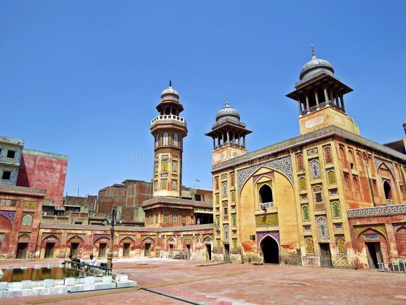 Wazir Khan Masjid, Lahore, Pakistan stockfoto