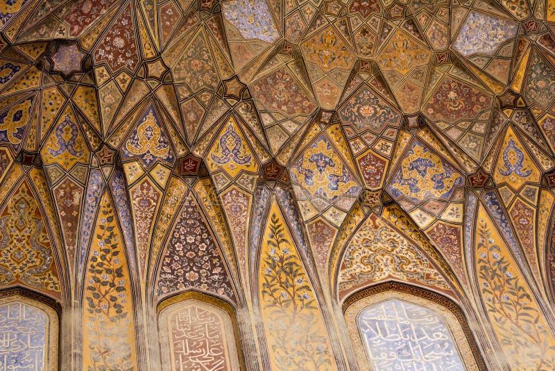 Wazir Khan Moschee lizenzfreie stockfotos