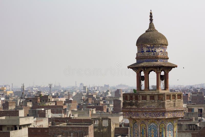 Wazir Khan Moschee stockbild