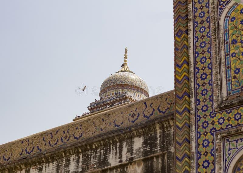 Wazir Khan Moschee lizenzfreie stockfotografie