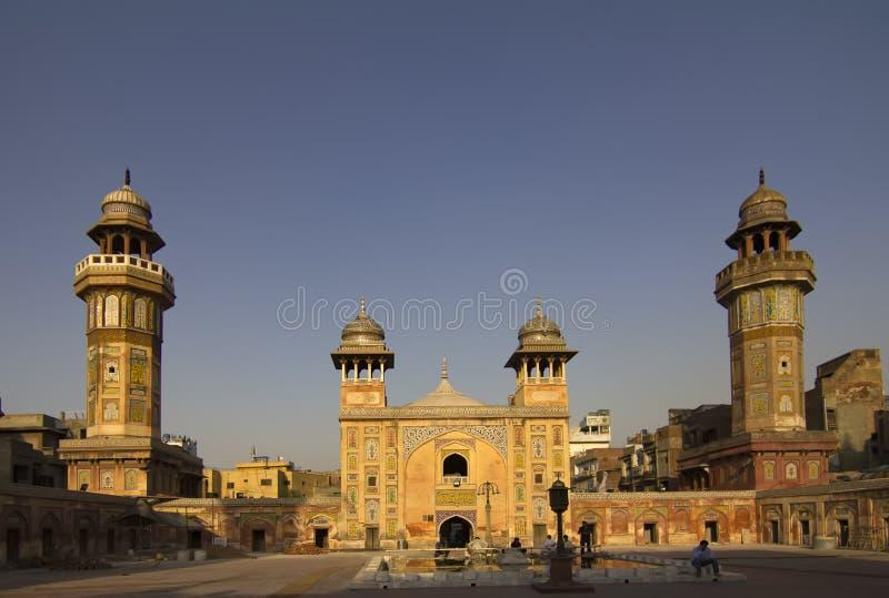 Wazir Khan Mosque durch Dämmerung stockfoto