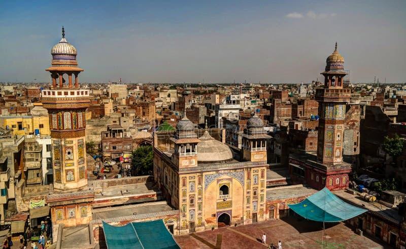 Wazir Khan Mosque, Lahore, Pakistan lizenzfreie stockfotografie