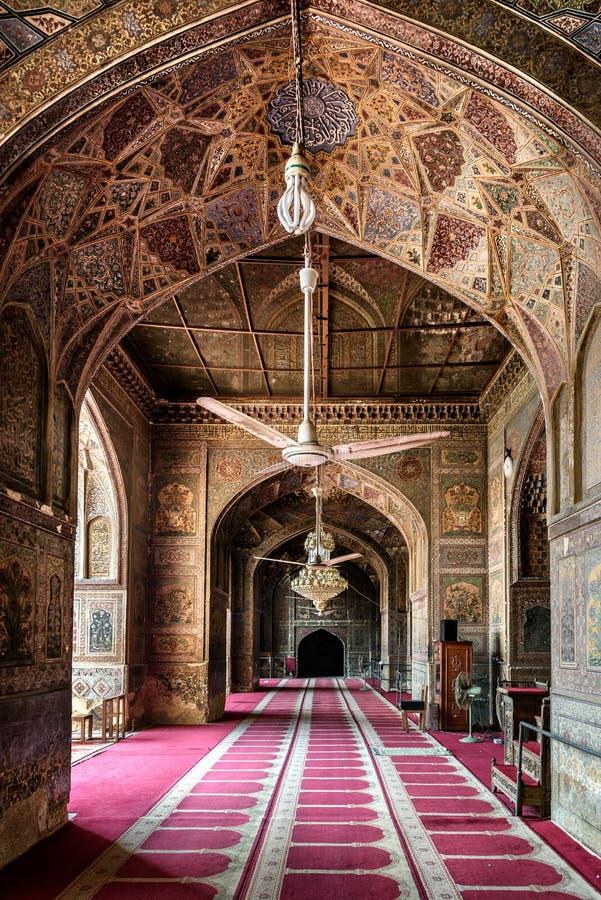 Wazir Khan Mosque Lahore Pakistan photo stock