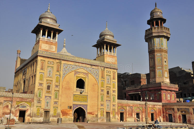 Wazir Khan Mosque Lahore, Pakistan royalty free stock image