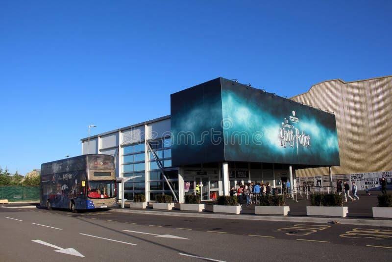 WB演播室在伦敦-哈利波特电影布景 库存图片