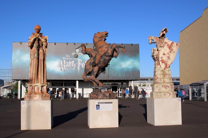 WB-Studios in London- - Harry Potter-Filmbühne stockfotografie