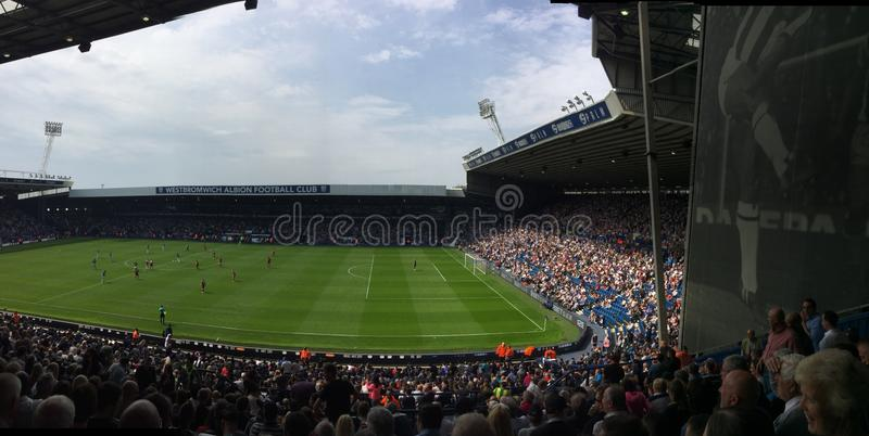 WBA V Liverpool stockbild