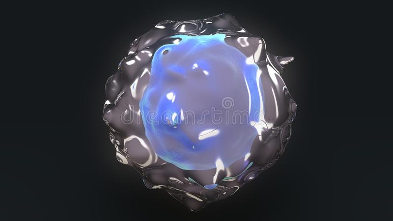 WBC Cell stock illustration