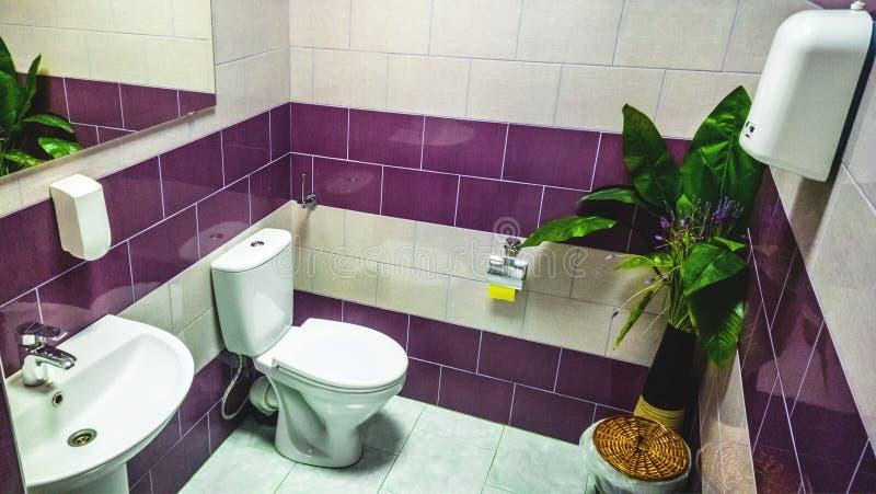 WC fotografia stock
