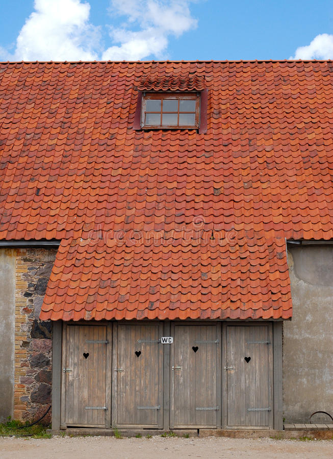 Download WC of 18 century house stock image. Image of roof, window - 13105627