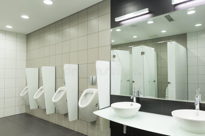 WC para homens imagem de stock