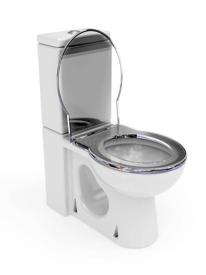 WC van het email stock illustratie