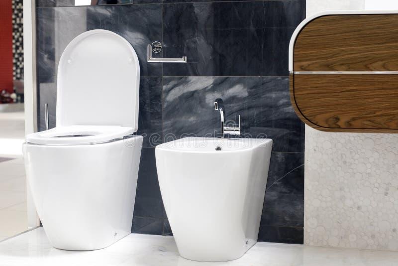 WC van het toilet royalty-vrije stock foto