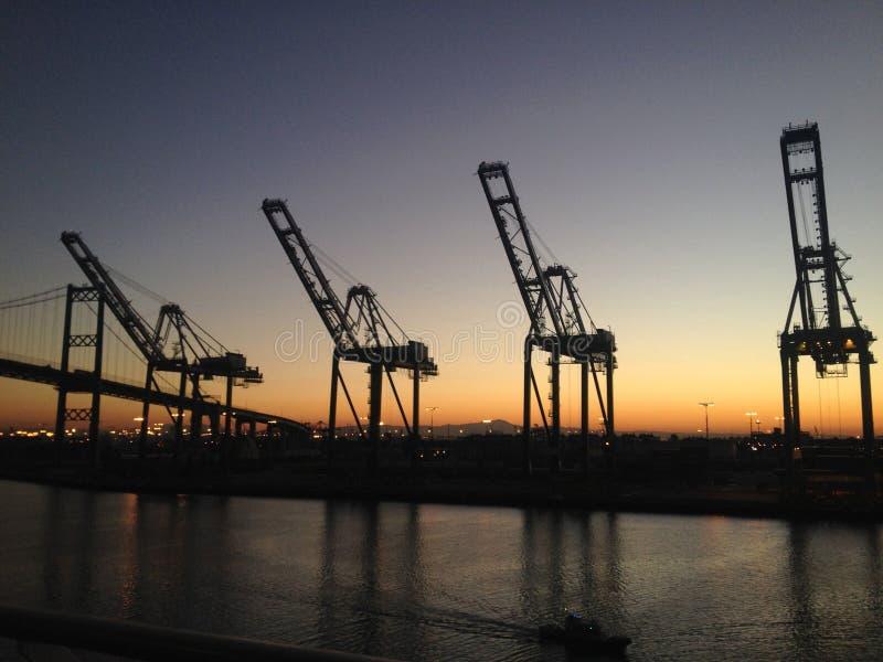 Wchodzić do Los Angeles śmiertelnie wyspa przez statku wycieczkowego, usa obrazy royalty free