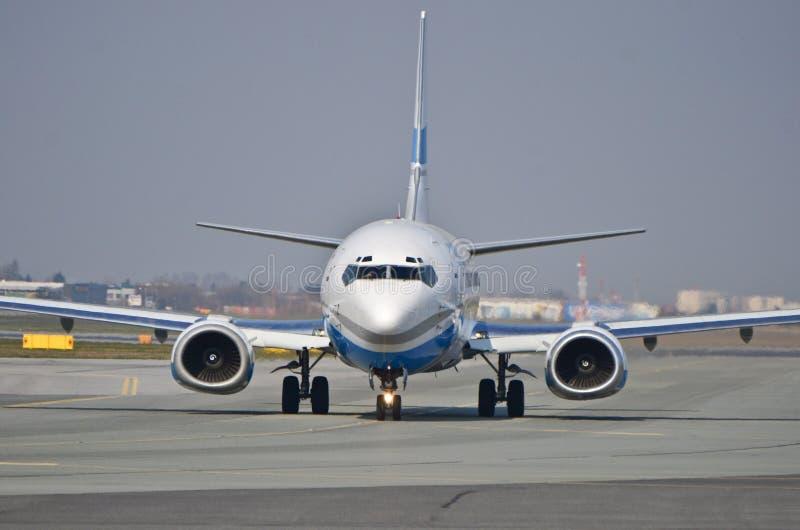 Wchodzić do Lotniczego samolot zdjęcie stock