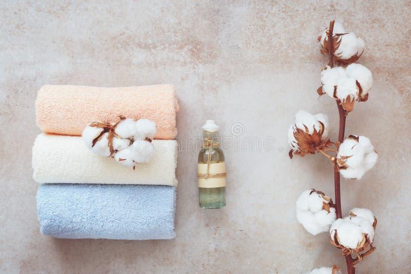 wciąż życie aromatherapy zdrój zdjęcia royalty free