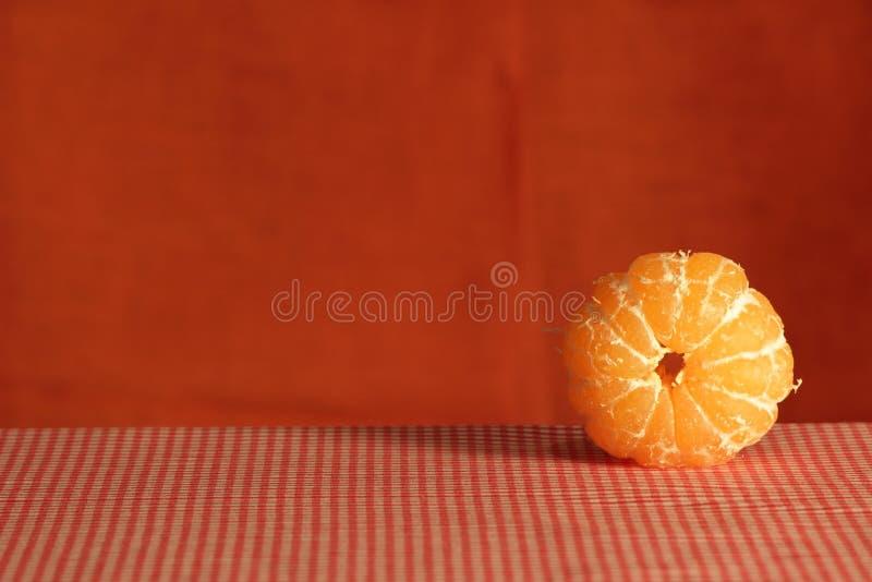 Wciąż życie z mandarynką. fotografia stock