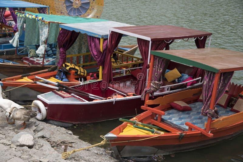 Wciąż Colourful łodzie obraz stock
