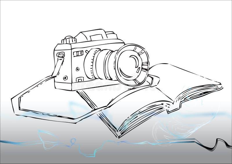 wciąż kamery fotografia ilustracji