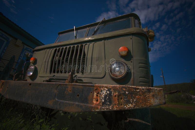 Wciąż pracować starego Rosyjskiego militarnego wyposażenie zdjęcia stock
