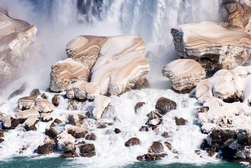 wczesna wiosna Niagara Spadek, Ontario, Kanada obrazy stock