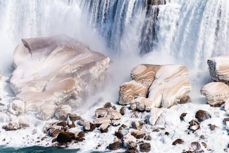 wczesna wiosna Niagara Spadek, Ontario, Kanada obraz stock