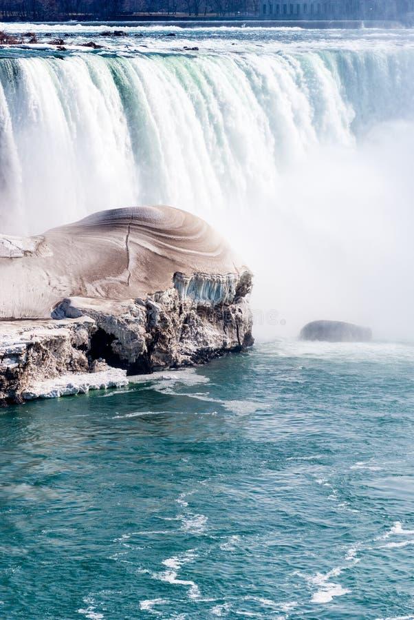 wczesna wiosna Niagara Spadek, Ontario, Kanada fotografia royalty free
