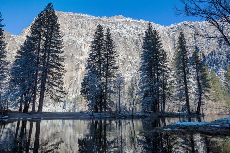 Wczesna wiosna w Yosemite obraz royalty free