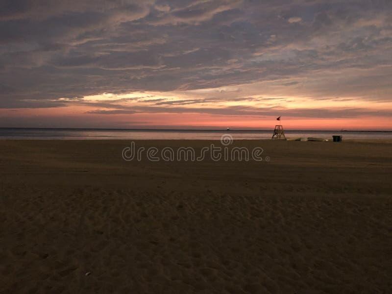 Wczesnego Poranku jezioro michigan w Chicago zdjęcia royalty free