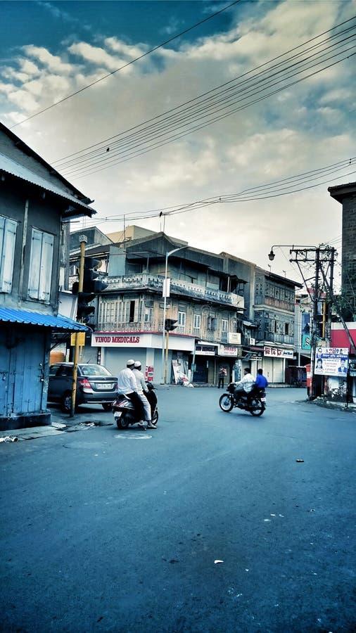 Wczesny poranek w Pune obrazy royalty free