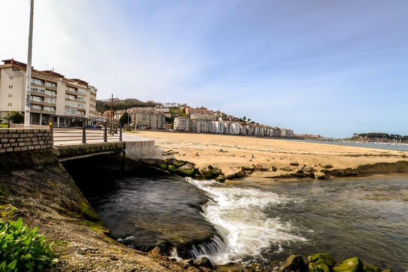 Wczesny wiosna dzień w Baiona, Galicia - fotografia royalty free