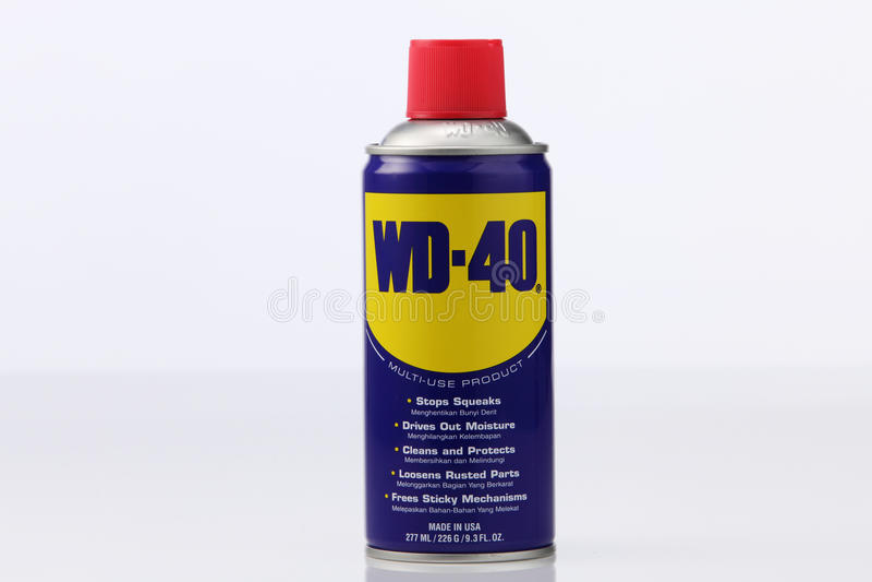 Wd40 στοκ εικόνα με δικαίωμα ελεύθερης χρήσης