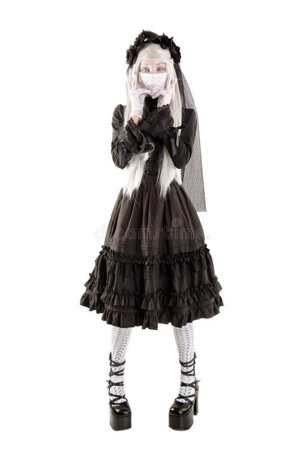 Wdowia lali dziewczyna obraz royalty free